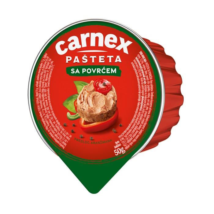 Pašteta sa povrćem 50 g