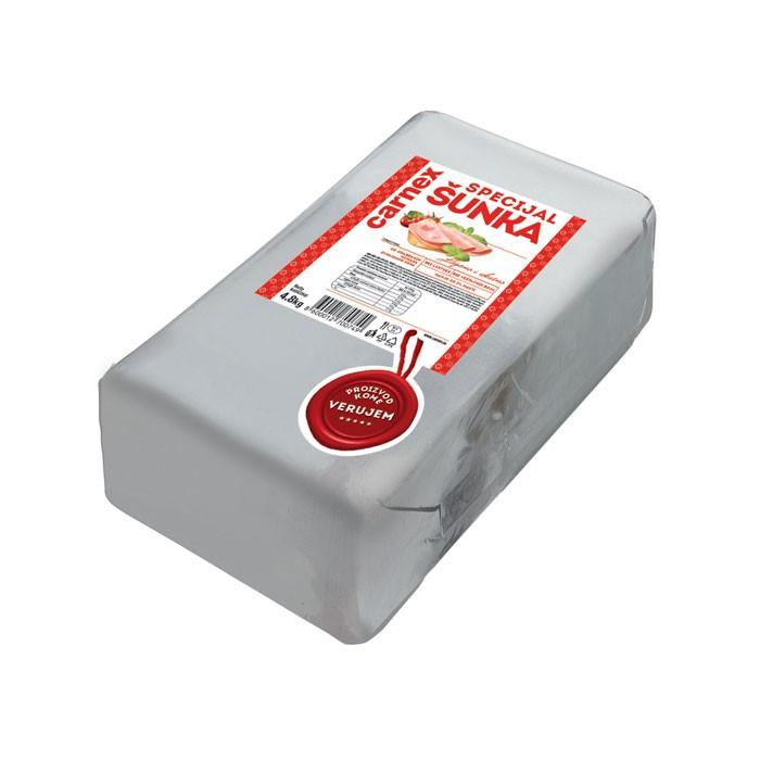 Specijal kuvana šunka 4,8 kg - u foliji