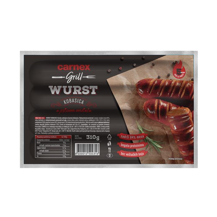 Wurst kobasica 310g