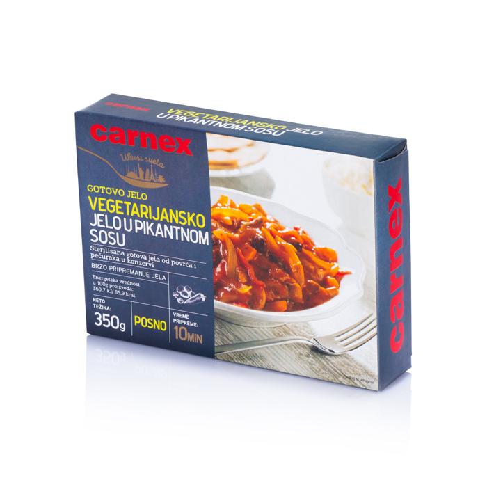 Vegetarijansko jelo u pikantnom sosu 350 g